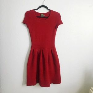 Taylor Dresses - Red Box Pleated Dress